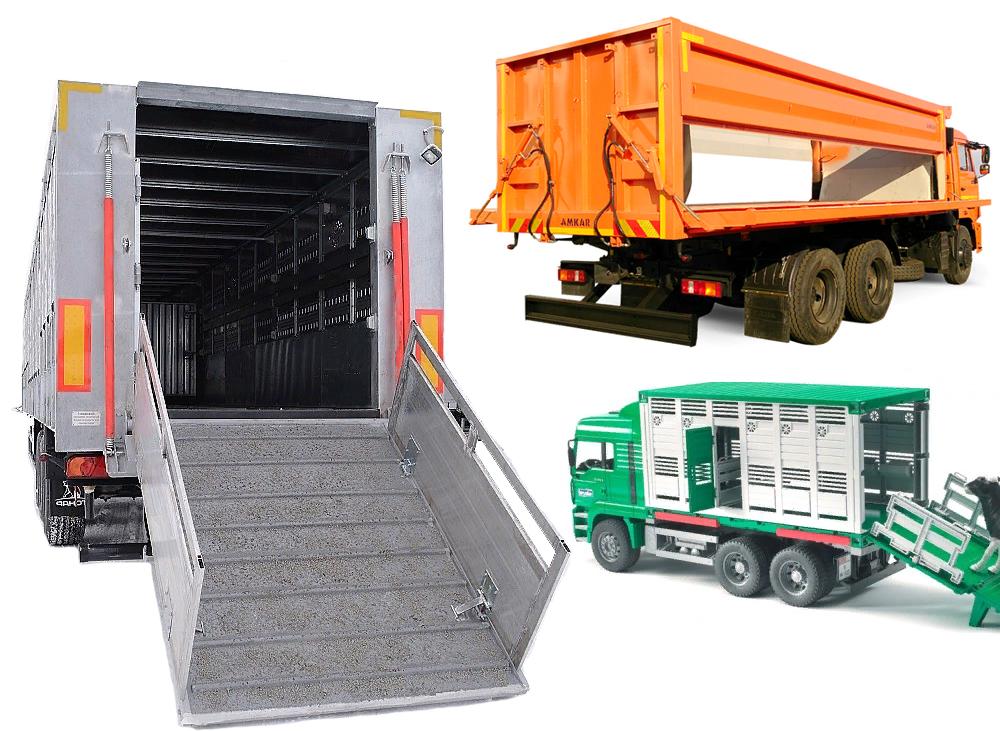 Спецтранспорт, зерновозы и скотовозы