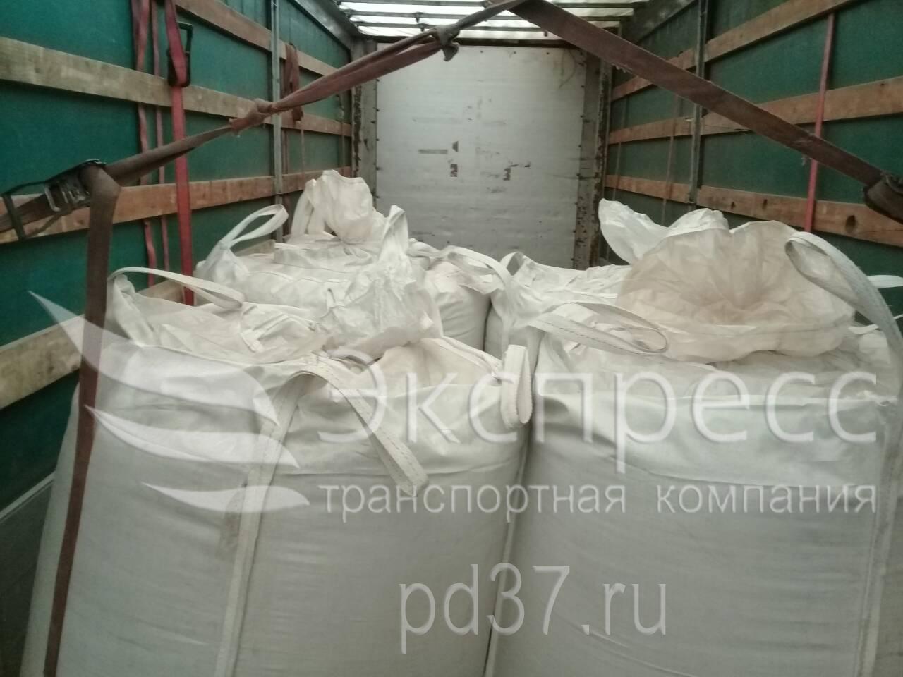 Перевозка зерна в биг-бэгах