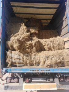 Перевозка льняного волокна
