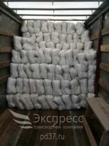 Перевозка подушек и одеял