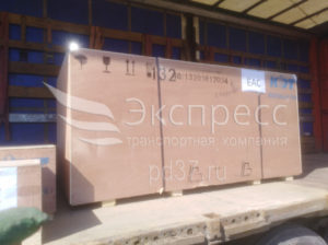 Перевозка деревообрабатывающего станка